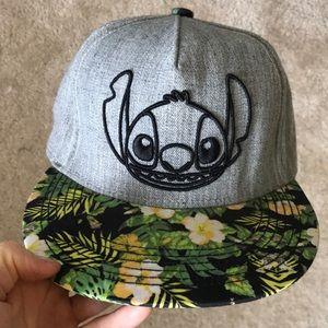 Disney Accessories - Stitch Snapback Hibiscus Disney Hat